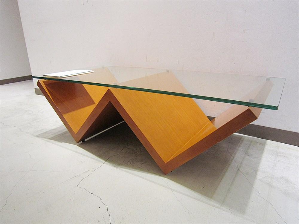 ▽東京都目黒区より ウニコ 木製センターテーブルを出張買取いたしました。
